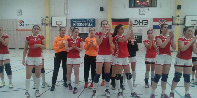 Hrvatske kadetkinje u prvoj utakmici upisale poraz od Njemačke