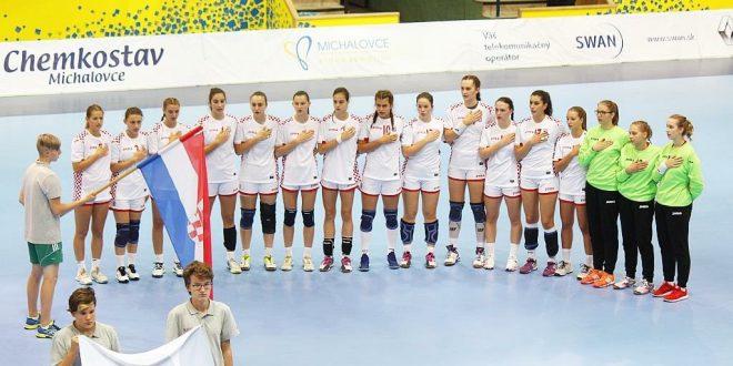 Kadetkinje na Svjetskom prvenstvu protiv Mađarske, Danske, Egipta, Švedske i Čilea