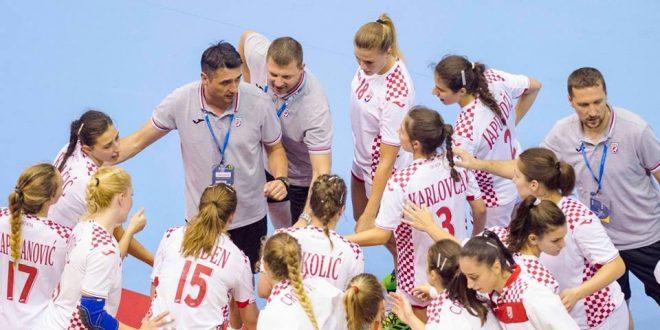 Juniorke u kvalifikacijama za SP protiv Rumunjske, Ukrajine i Gruzije