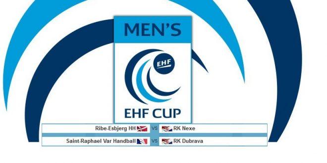 Nexe protiv Ribe-Esbjerga, Dubrava protiv Saint-Raphael Var Handball
