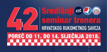 Program 42. Središnjeg seminara za trenere HRS-a