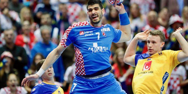 Hrvatska poražena od Švedske u posljednjoj utakmici skupine A u Splitu