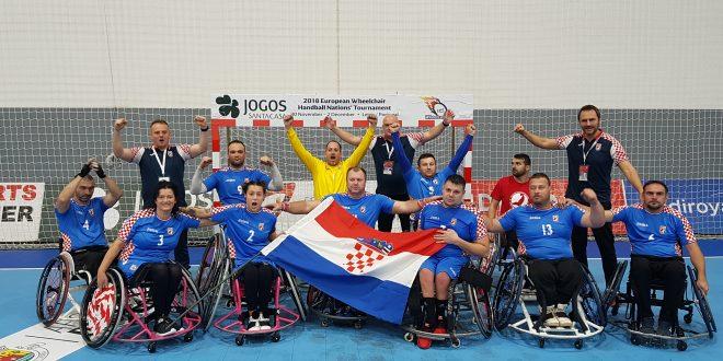 Hrvatska rukometna reprezentacija u kolicima srebrna na Turniru nacija