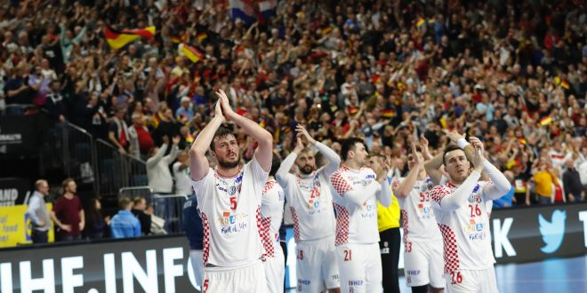 Hrvatska nakon velike borbe poražena od Njemačke 22-21